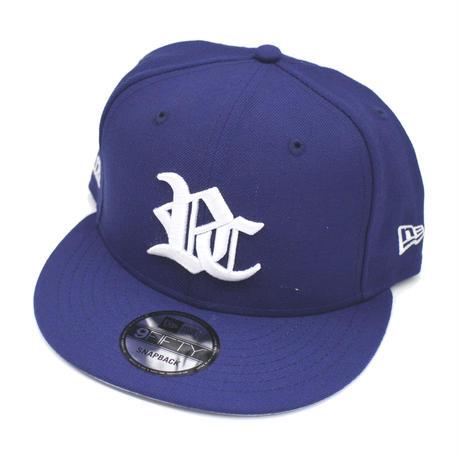 RC LOGO NEW ERA CAP SNAPBACK / BLUE