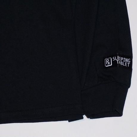 SLEEPING TABLET ロンT MISTICS [ LONG SLEEVE ] / BLACK