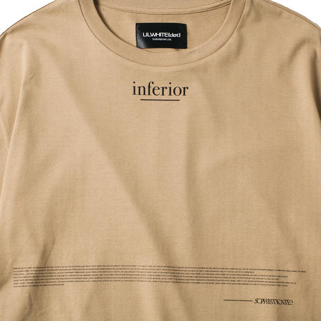 -INFERIOR- BIG Tee / BROWN