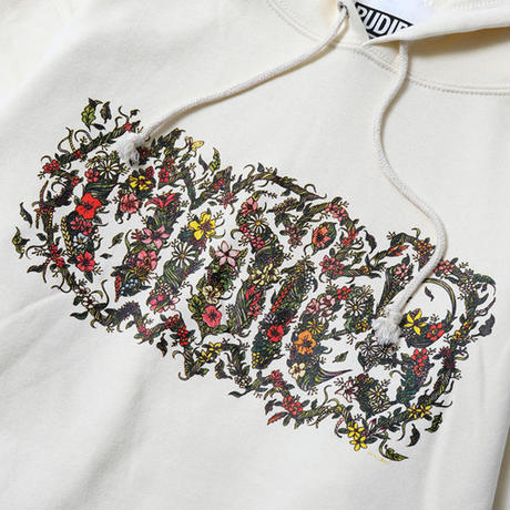 "【RUDIE'S】パーカ ""BOTANICAL SPARK HOOD SWEAT"" / NATURAL"