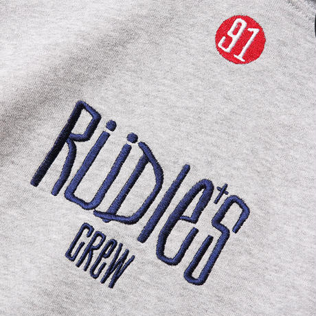 "RUDIE'S パーカ""DRAWING HOOD SWEAT"" / GRAY"