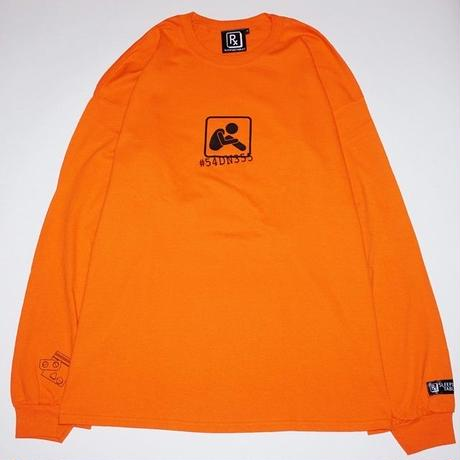 SLEEPING TABLET ロンT BOI [ LONG SLEEVE ] / ORANGE