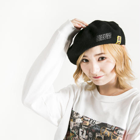 "【HEDWiNG】ベレー帽  ""Line Logo Beret"""