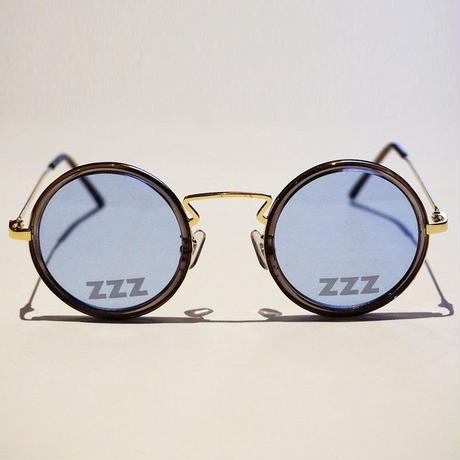 SLEEPING TABLET サングラス ZZZ [ OVAL SUNGLASS ] / BLUE