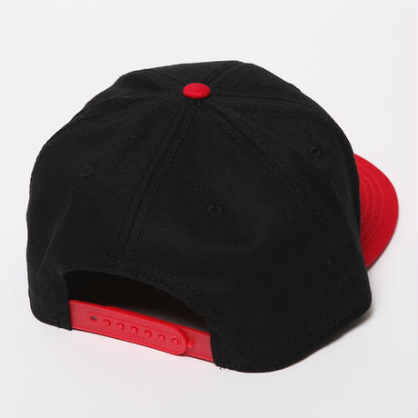 SPARK SNAPBACKCAP / BLACK-RED