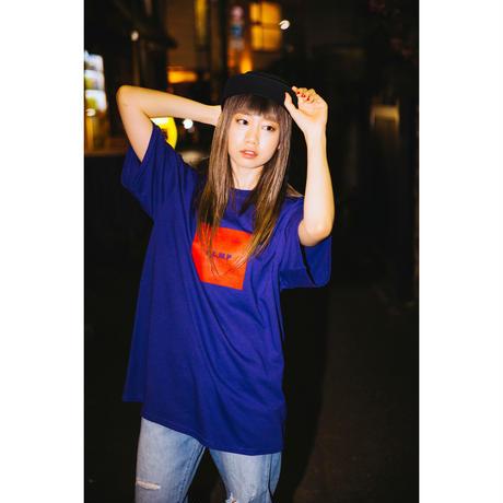 "【PLMP】Tシャツ ""PLMP BOX TEE"" / PURPLE"