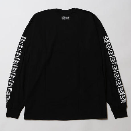 ASLEEP [ LONG SLEEVE ] / BLACK