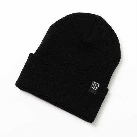 "SILLENT FROM ME ニットキャップ""QUERY -Beanie-"" / BLACK"