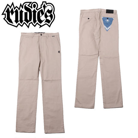 PAISLEY WORK PANTS / BEIGE