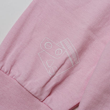 SLEEPING TABLET ロンT ESCAPE [ LONG SLEEVE ] / PINK