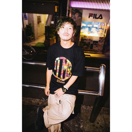 """【PLMP】Tシャツ """"PLMP FLOWER TEE"""" / BLACK"""