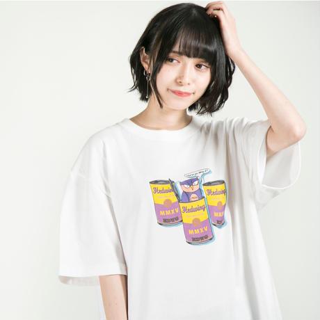 "HEDWiNG Tシャツ ""Hyokkori"" Owl T-shirt / WHITE"