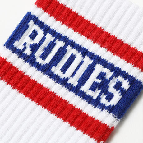 "【RUDIE'S】ソックス ""MIGHTY SOCKS"" / WHITE"
