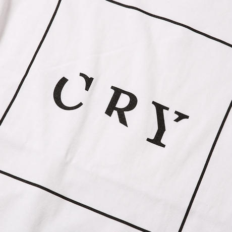 CRY / WHITE