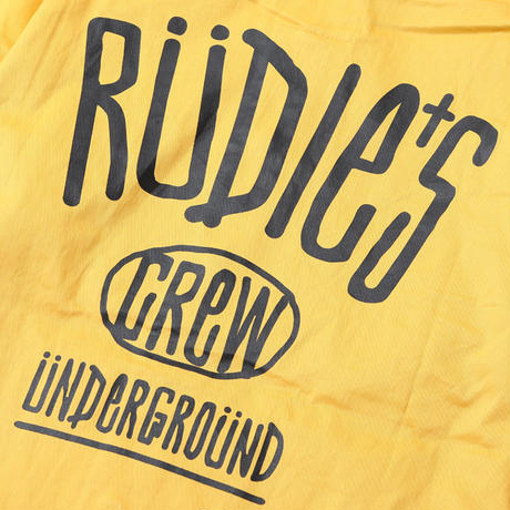 "【RUDIE'S】フードジャケット ""DRAWING HOOD JACKET"" / YELLOW"