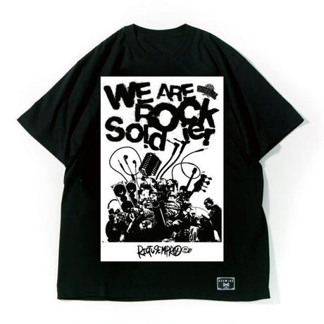 "ONION ROCK FESTIVAL × HEDWiNG ""W.A.R.S Big Shilhouette T-Shirt"""