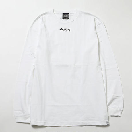 "SILLENT ロンT ""STIGMA -Long Sleeve-"" / WHITE"
