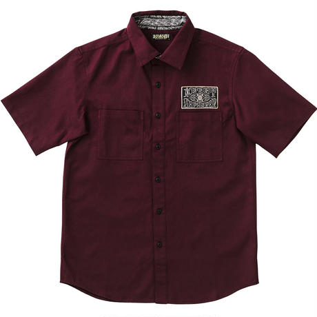 """WORK SHIRT S/S -10-FEET×Zephyren-"""