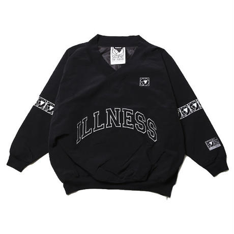 VEXED -Nylon Pullover- / BLACK-BLACK