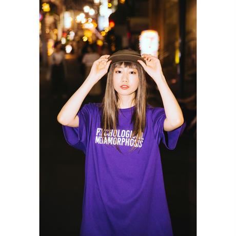"【PLMP】Tシャツ ""PLMP LOGO 3"" / PURPLE"