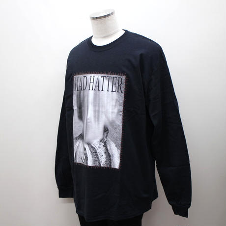 "MAD HATTER ロンT ""Earl L/S Tee"" / BLACK"