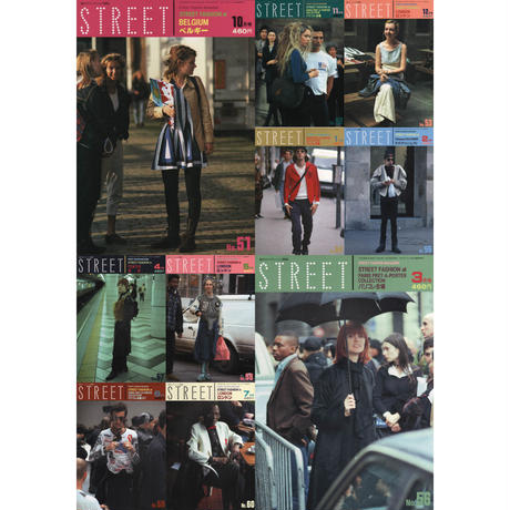 eBook- STREET magazine No.051 ~ No.060 set