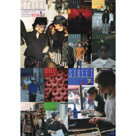 eBook- STREET magazine No.031 ~ No.040 set