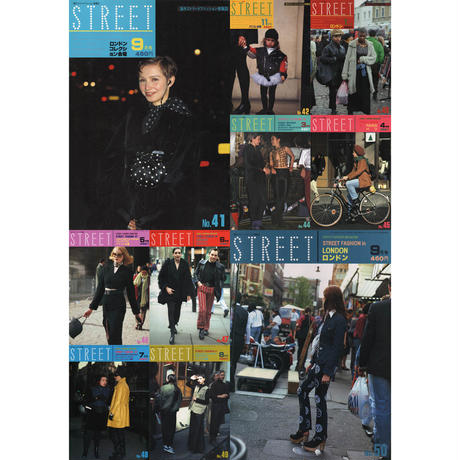⭐️⭐️⭐️ eBook- STREET magazine No.001 ~ No.100
