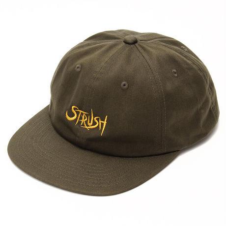 Script Strapback Cap (Olive)