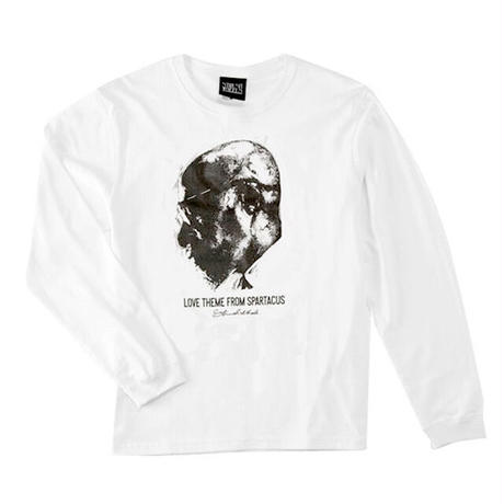 Love From Long Sleeve Tee (White)