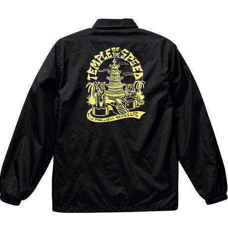 Temple of The Speed Coach Jacket (Black) Art by 2YANG