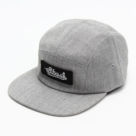 Signature Patch Heathered 5panel Cap (L.Grey)