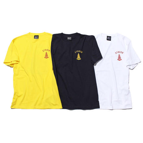 Temple of The Speed Tee Shirts (Navy) Art by 2YANG