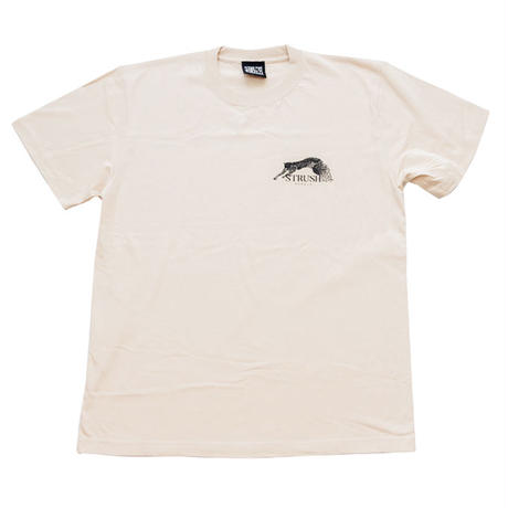 Panther Tee Shirts (Beige) Art by Guru Kato