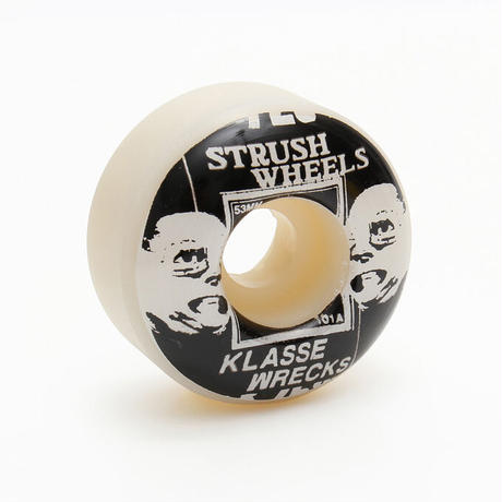 STRUSH x KLASSE WRECKS 53mm 101a (ART BY LACA LOZANO)