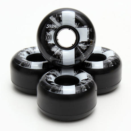 Lui Araki Photo Cruiser  Wheel 56mm 75a Black (Art by Lui Araki)