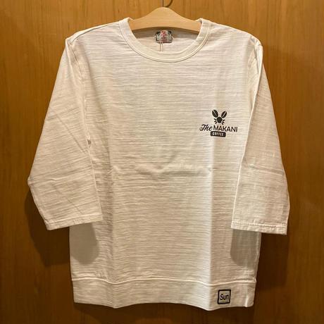 【u.m.i】 スラブ7分袖Tシャツ