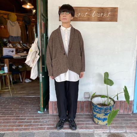 """【Brocante】 """"コットンツイード   キモノコート"""""""