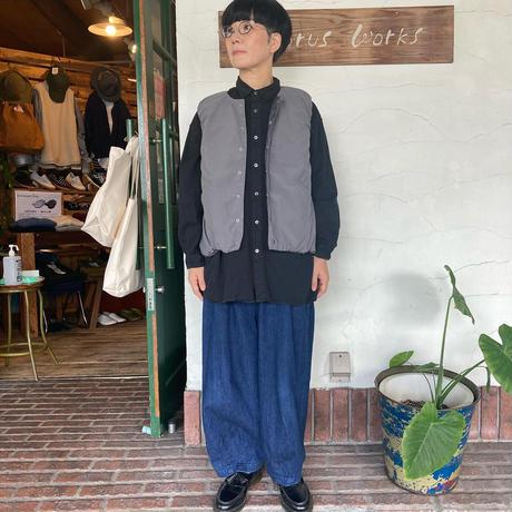 "【NARU】 ""リバーシブルダウンベスト"""
