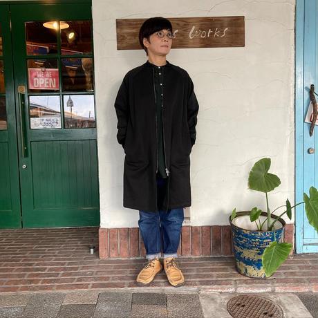 "【BLUELAKEMARKET】 ""コットンウールロングジャケット"""