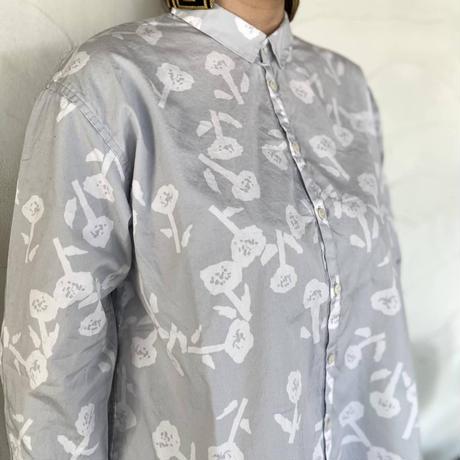 """【grin】 """"フラワープリントシャツ"""""""