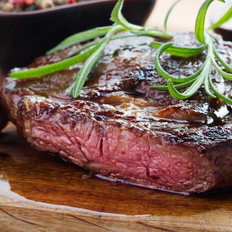 絶品赤身肉!US産アンガスビーフ サーロインステーキ 900g(約180g×5枚)