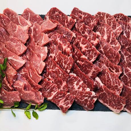 バーベキューセット 赤身肉ボリューム重視Ver.(4〜6人分)ドーンと1.56kg!!