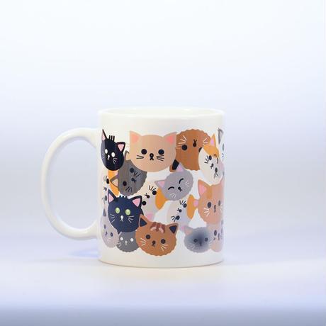 マグカップ・ニャンコサミット代表猫の皆様