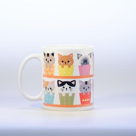Cup cake of cat カラフルマグカップ