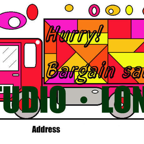 Post card for the bargain sale.集客アップポストカードJPEG001