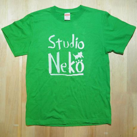 Studio Neko グリーンxホワイト S