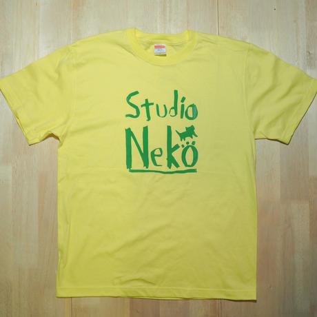 Studio Neko ライトイエローxグリーン L