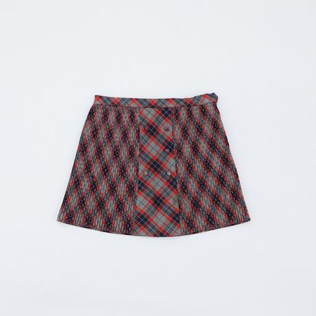 スカート|チェック|110~120|アウトレット