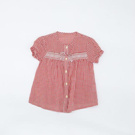 シャツ|ギンガムチェック|110